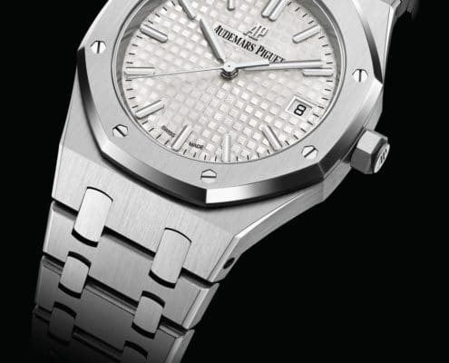 AUDEMARS PIGUET enlarges its Royal Oak selfwinding luxury collection watchs with new 34mm