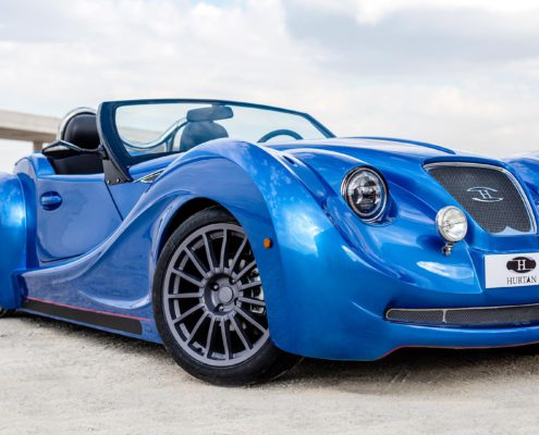 HURTAN T2  the new experience RE-EDITION, a luxury artisan sports car