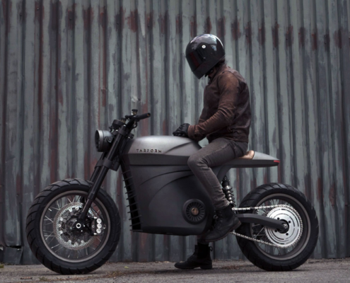custom motorcycle Tarform
