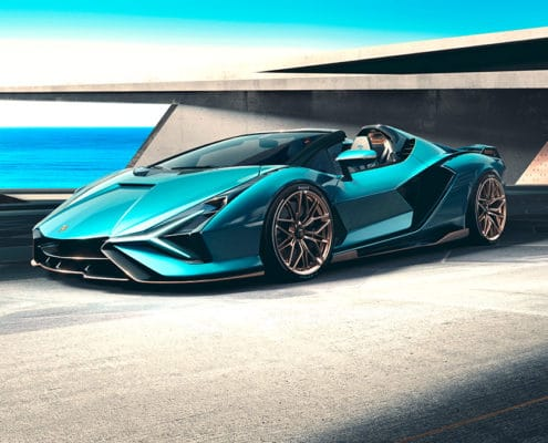 The Lamborghini Sián Roadster: Experience future technology under open skies