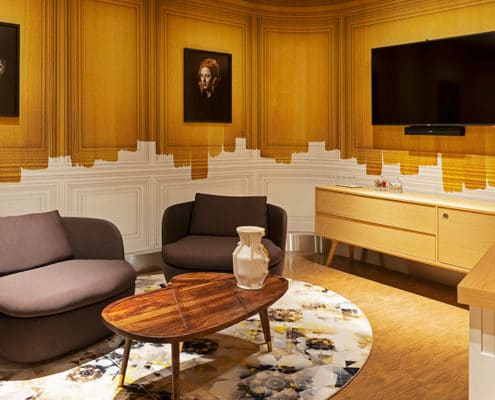 Vip centre at Amsterdam Airport Schiphol – Marcel Wanders