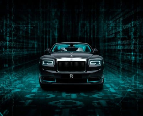 Rolls-Royce Collection Cars – The Wraith Kryptos collection a labyrinth of complex ciphers