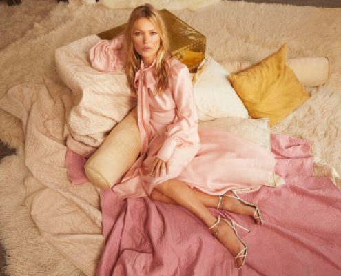 JimmyChoo - Iconic supermodel Kate Moss is the epitome of Bohemian Glamour - PRE-FALL 2020