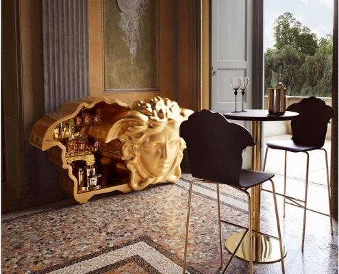 The New Versace Home Collection Exudes Refined Glamour