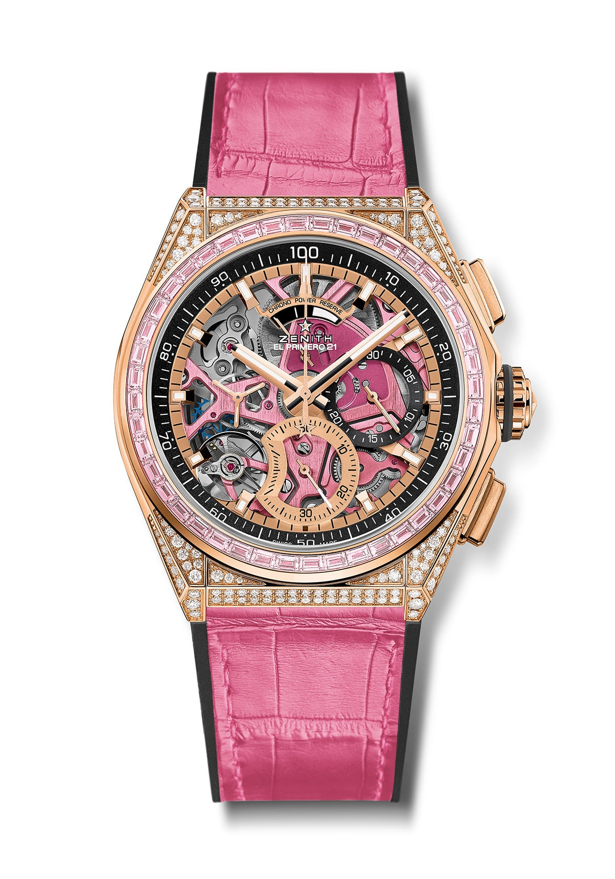 Pink for Summer, Pink for Hope Zenith takes on a worthy cause for women with the defy 21 pink edition