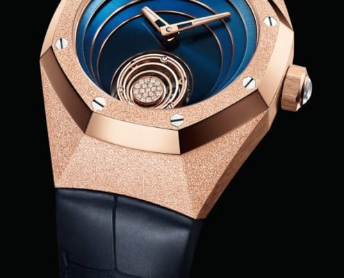 A new feminine look for Audemars Piguets royal oak concept flying tourbillon