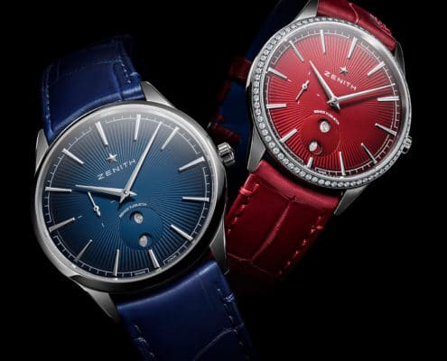 ZENITH Elite Moonphase Romeo y Julieta is inspired by cuban cigars