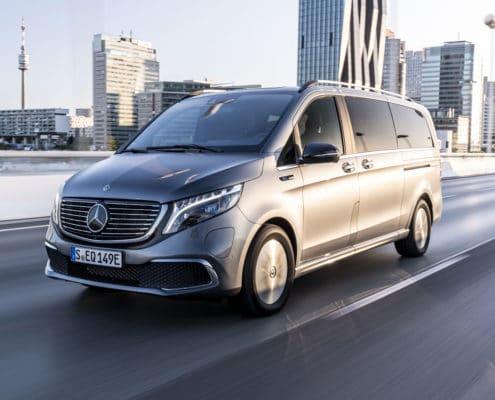 The Mercedes-Benz EQV: electric, versatile, intelligent