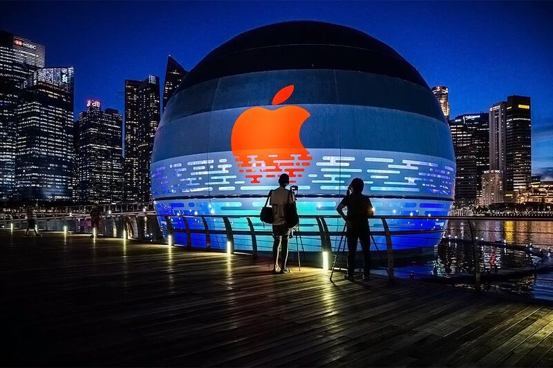 Apple Marina Bay Sands opens Thursday in Singapore