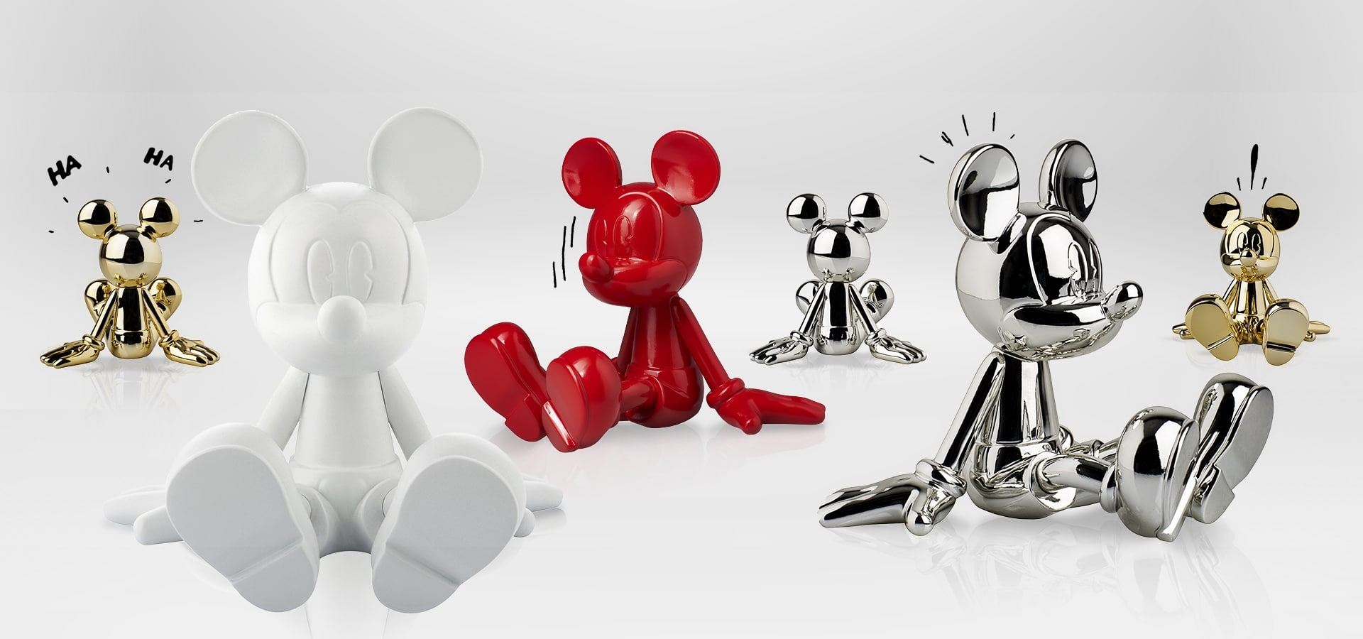 Leblon Delienne and Marcel Wanders studio launch 'Sitting Mickey' – an icon reimagined