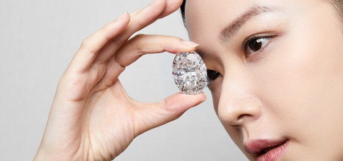 Sotheby's Hong Kong - 102 Carat D-Flawless Diamond Fetches $15.6 Million In Landmark Auction