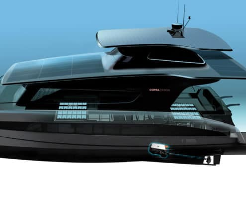 New SILENT-YACHTS solar electric catamaran comes with Volkswagen´s electric drive matrix