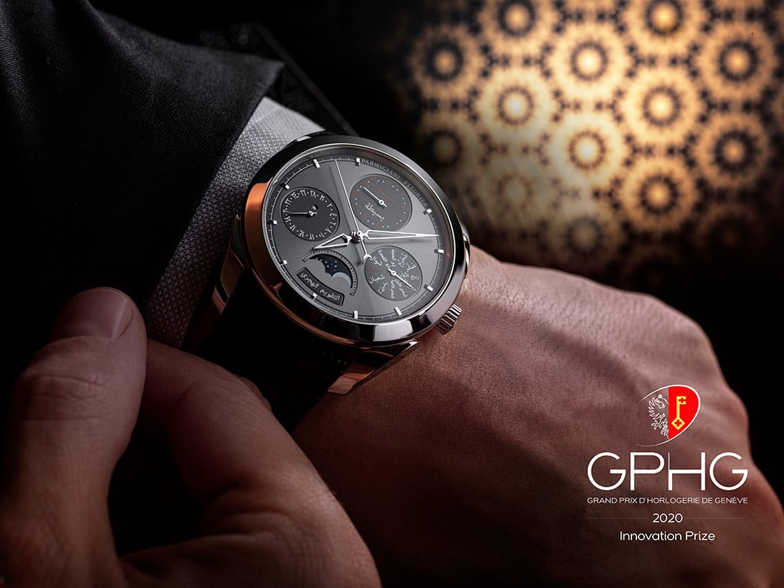 PARMIGIANI FLEURIER RECEIVES PRESTIGIOUS GPHG INNOVATION