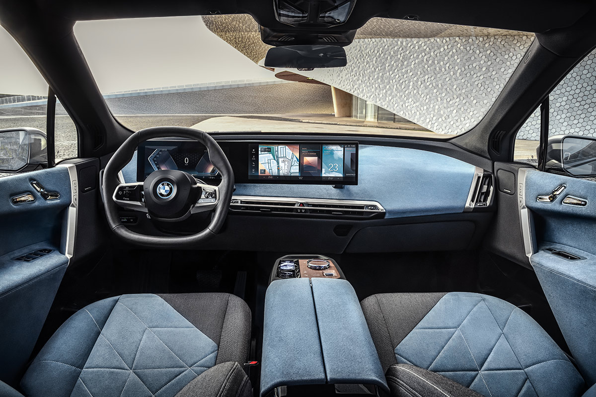 BMW iX. INTERIOR