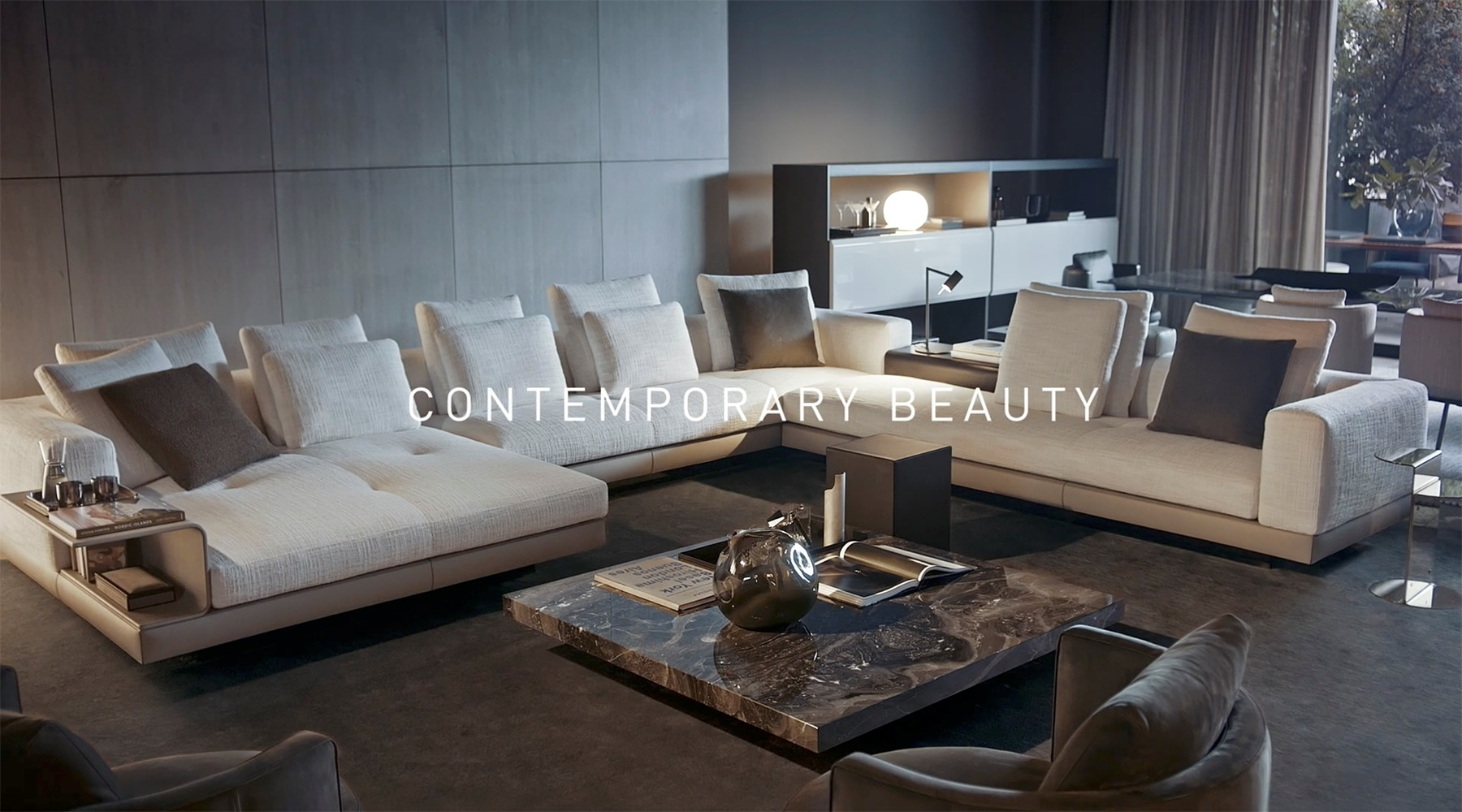 "Minotti ""Endless Moments Of Pleasure"" – Contemporary Beauty."