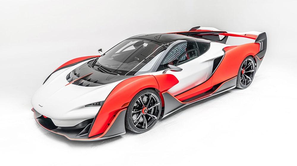 McLaren Sabre supercar