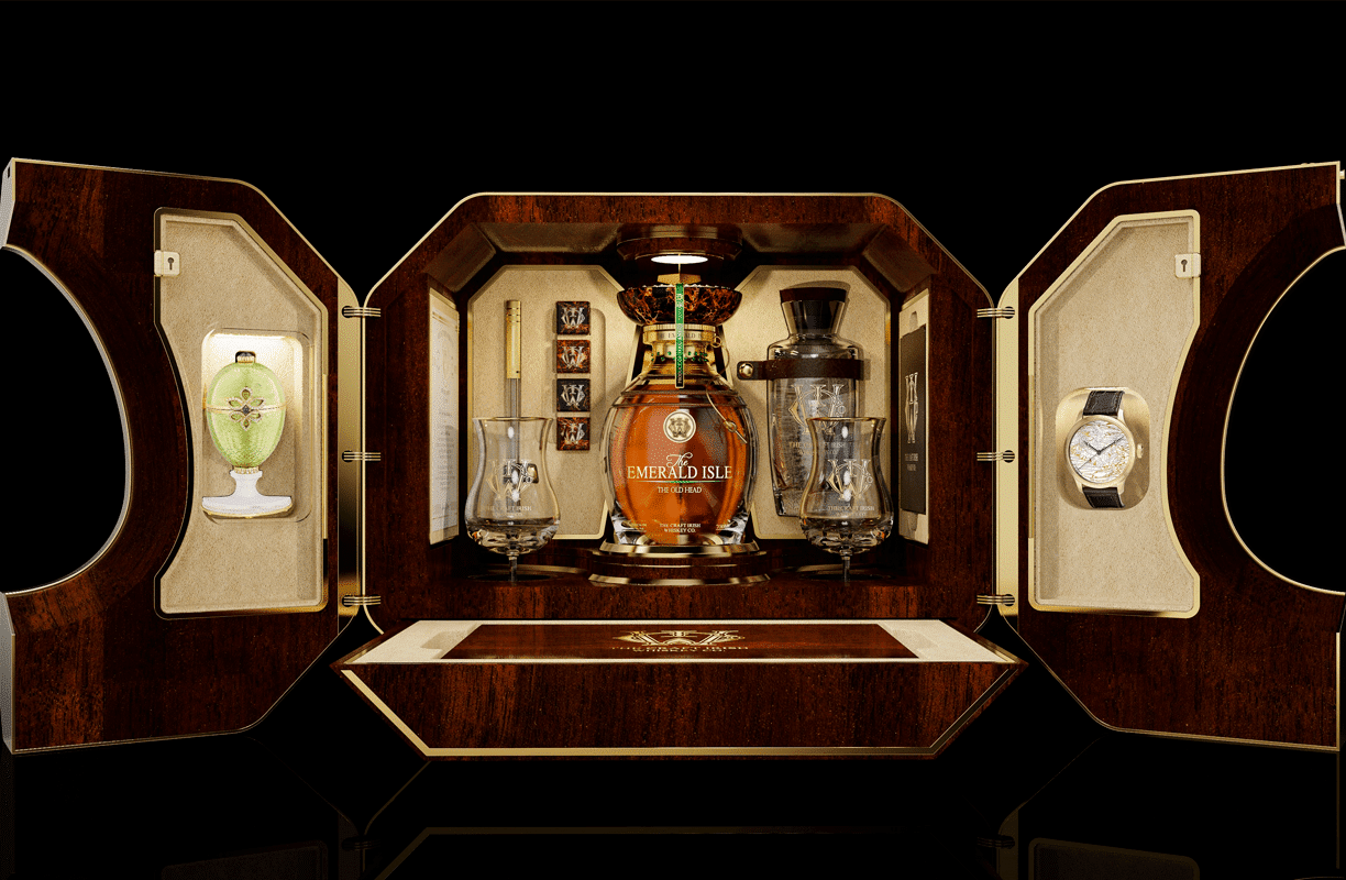 The Craft Irish Whiskey Co. x Fabergé | A Partnership of a Lifetime