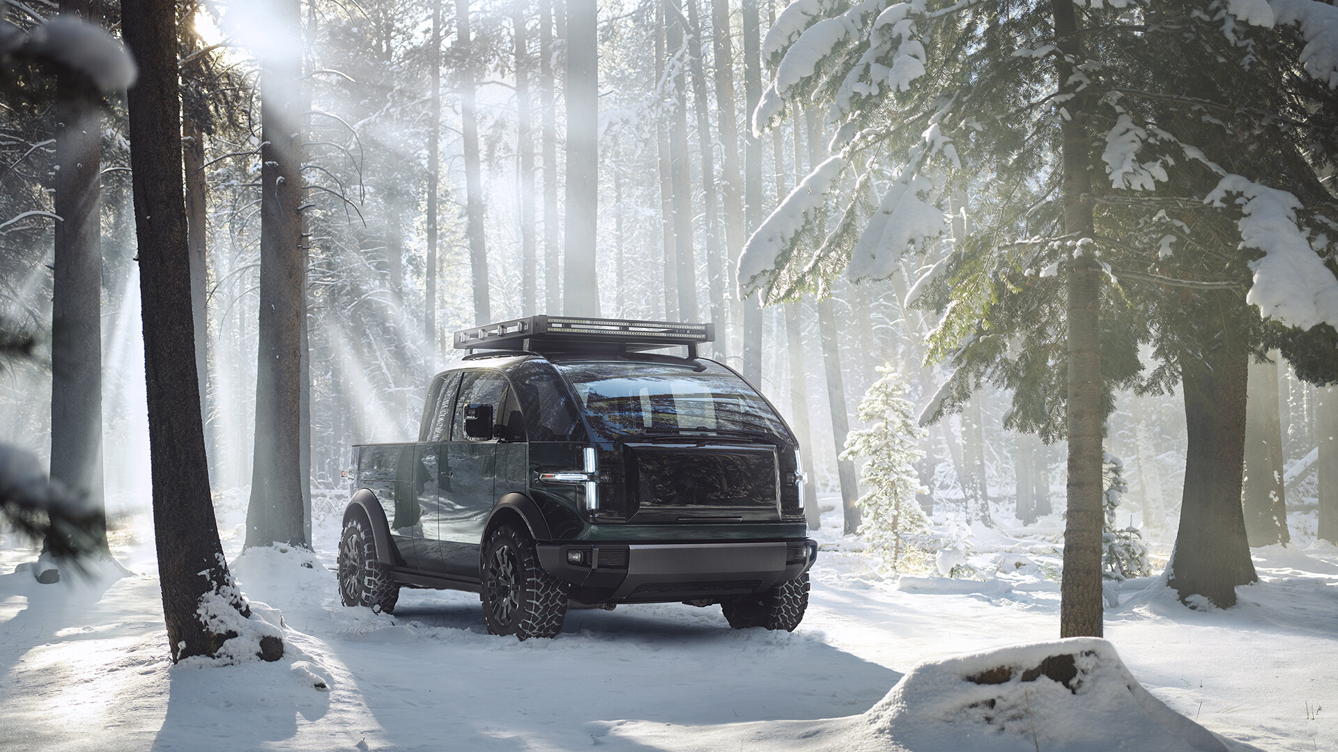 Canoo's New Pickup Is All Electric, All American – Ready For Work & The Weekend