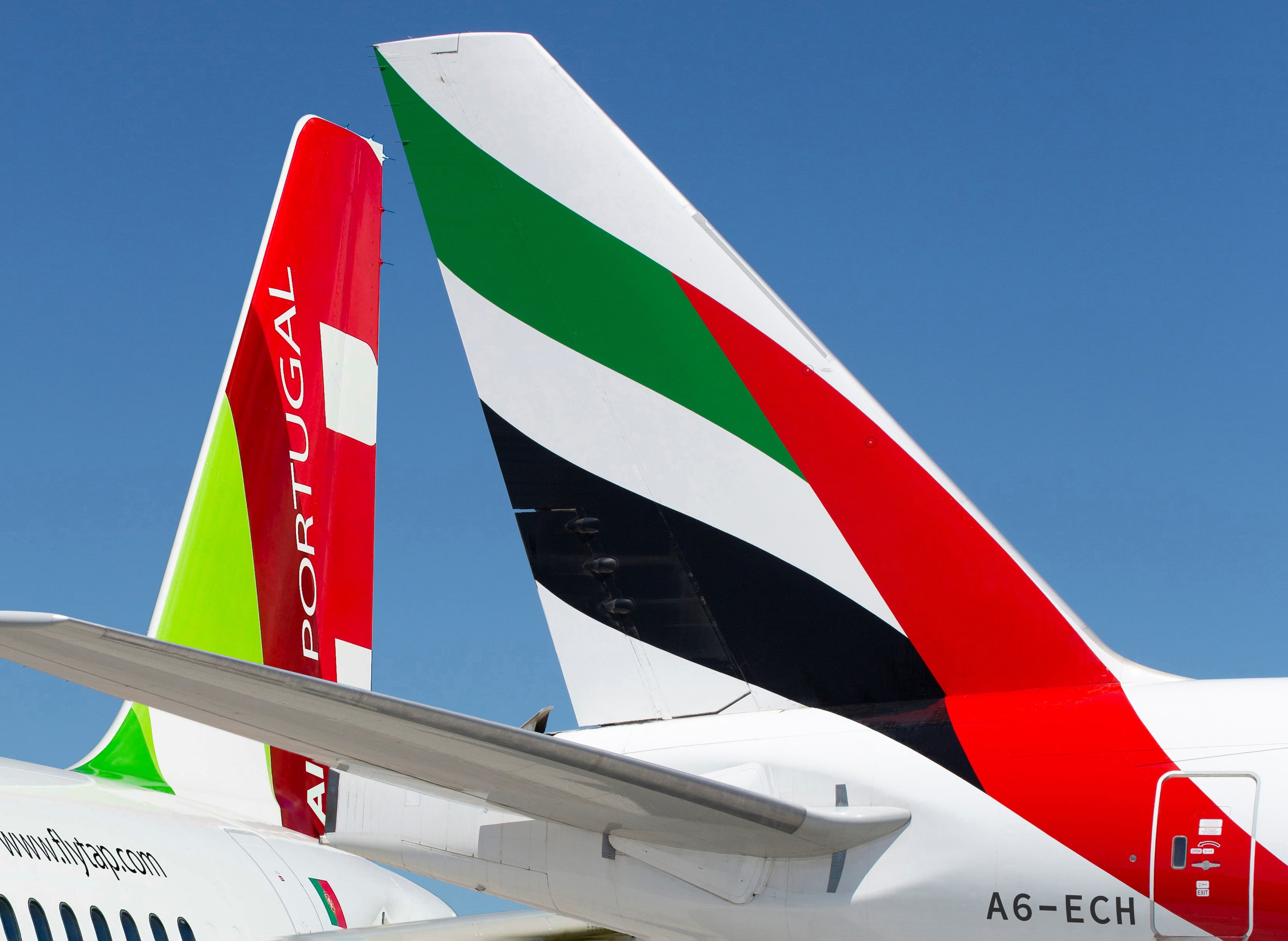 Emirates y TAP Air Portugal_A