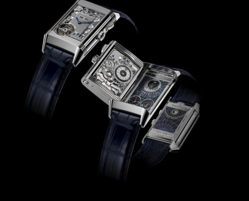 Jaeger-LeCoultre unfolds infinity in four chapters with the Reverso Hybris Mechanica Calibre 185