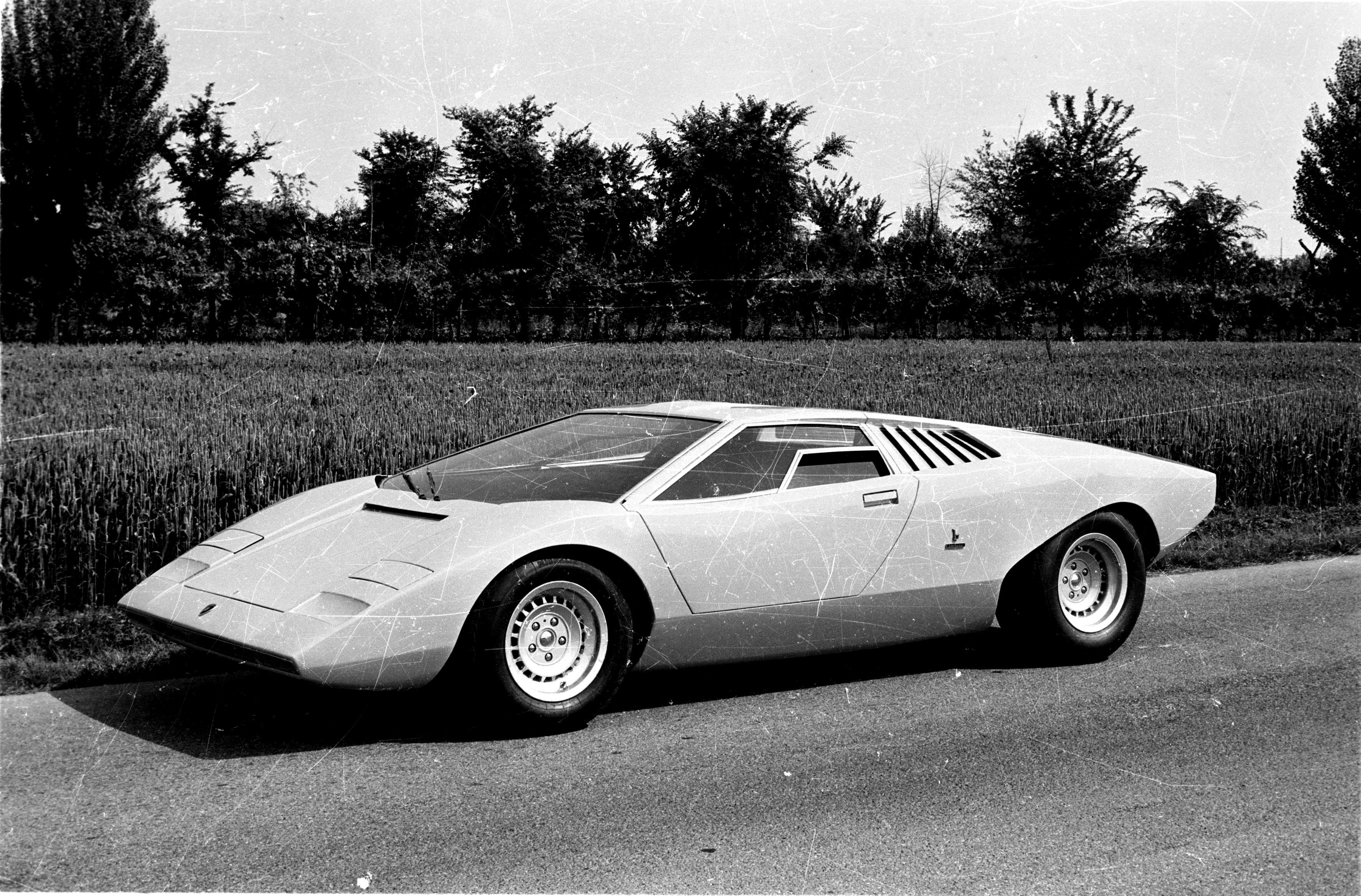 Lamborghini Countach LP 500 turns 50 years old on March 11, 2021