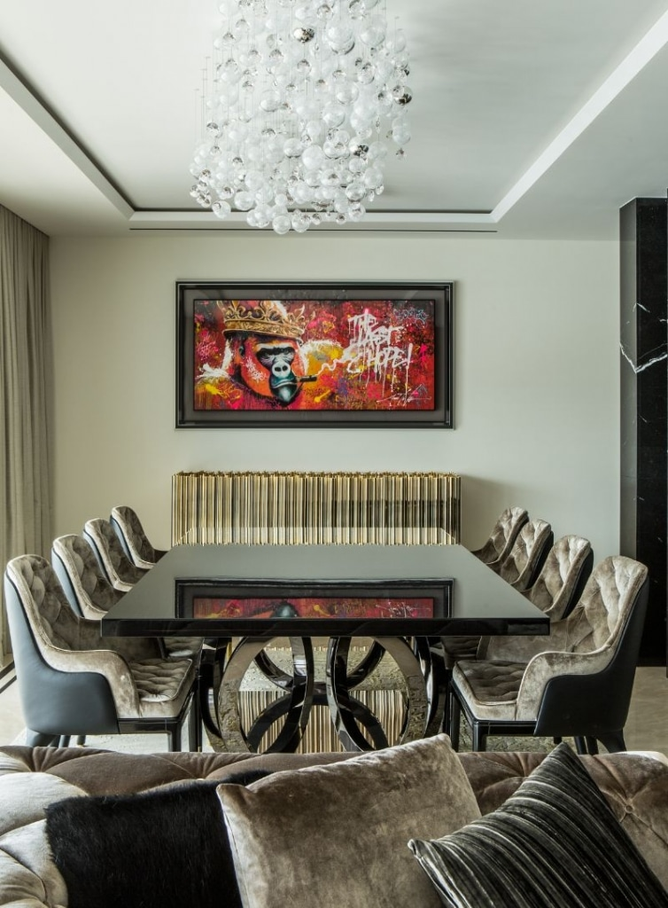An Opulent French Apartment That Overlooks The Port Of Cannes