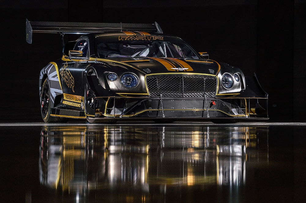 Renewable fuel to power continental GT3 to the clouds bentley's 2021 pikes peak racer unveiled
