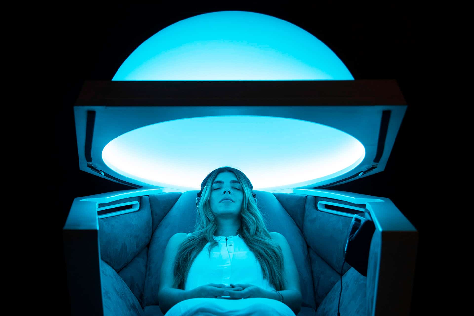 SOMADOME – The world's first technology-enabled meditation pod.