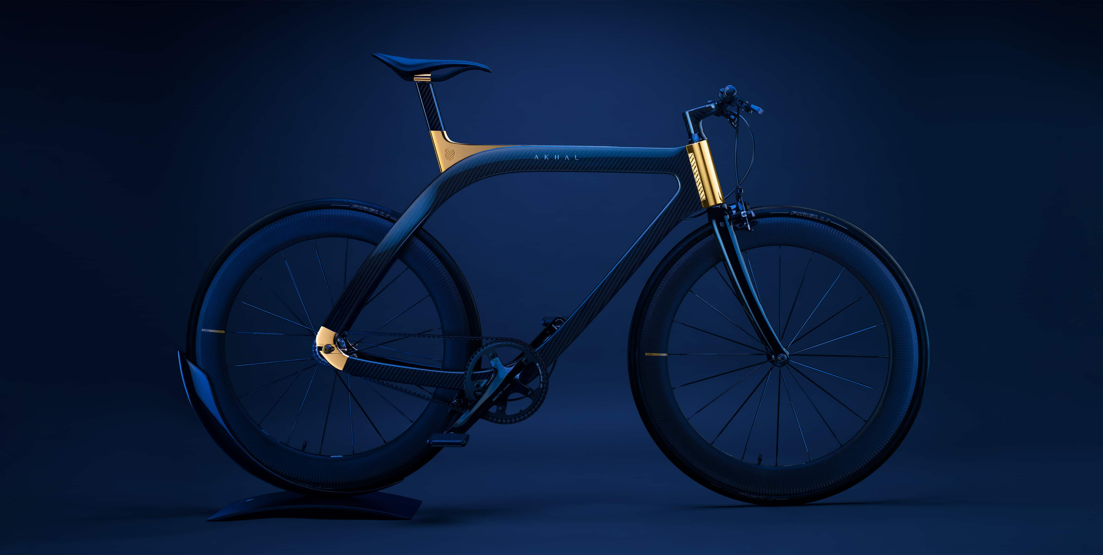 Akhal Sheen, a bicycle inspired by the impeccable essence of High Jewellery