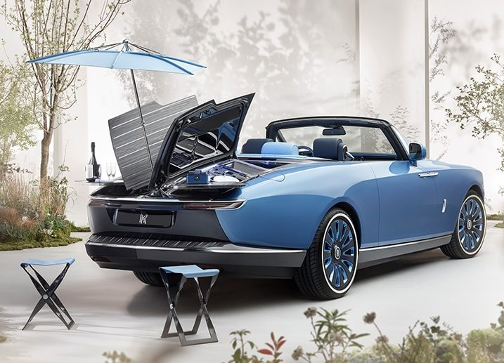 ROLLS-ROYCE 'BOAT TAIL'. A COUNTERPOINT TO INDUSTRIALISED LUXURY.