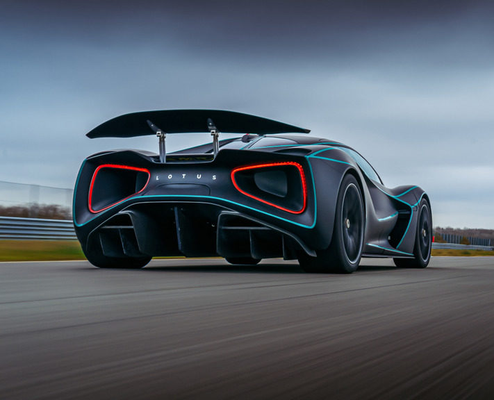 The Lotus Evija has been named as 'The One to Watch' inTop Gear's second ever Electric Awards.