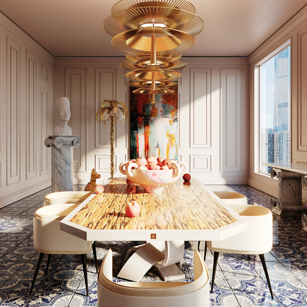 Statement Design Pieces – Always on Set by Hommés and ACH Coll