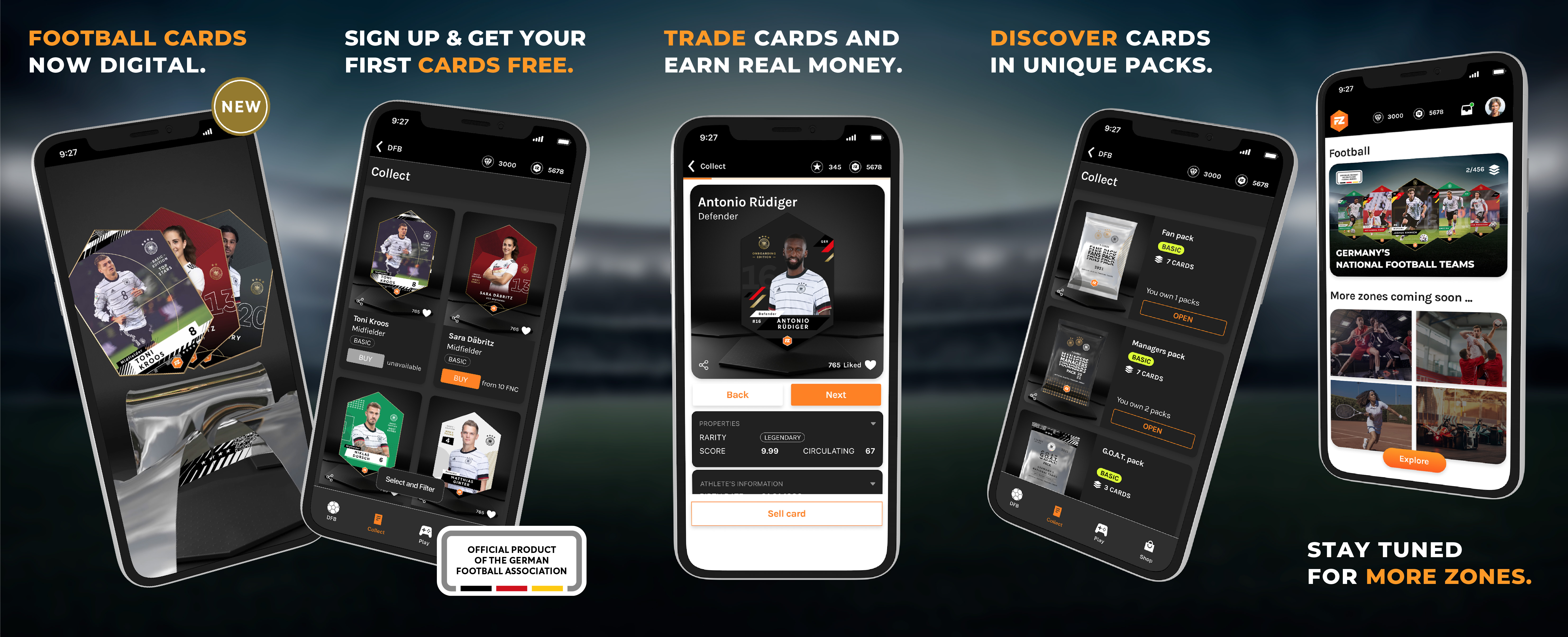 Blockchain platform for trading cards – Forward31 launches start-up Fanzone