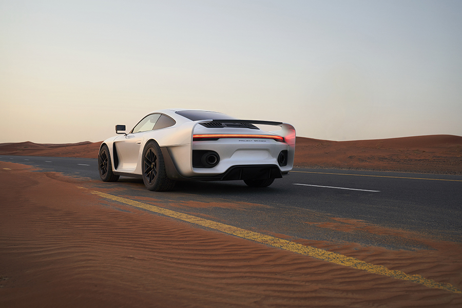 MARC PHILIPP GEMBALLA GOES INTERGALACTIC WITH THE ALL-NEW MARSIEN: THE ULTIMATE ADVENTURE SUPERCAR