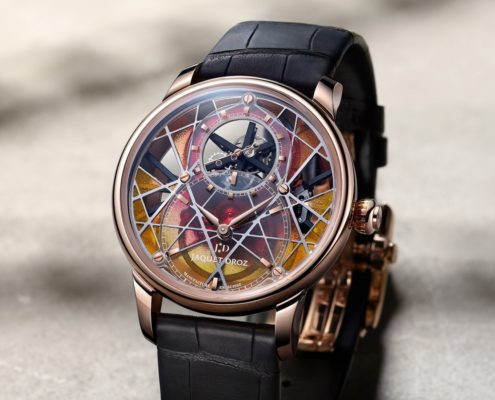 """IN THIS CELEBRATORY YEAR MARKING THE 300TH ANNIVERSARY OF PIERRE JAQUET-DROZ'S BIRTH, THE MAISON UNVEILS AN EXCEPTIONAL UNIQUE PIECE RESERVED FOR THE """"ONLY WATCH"""" CHARITY AUCTION."""