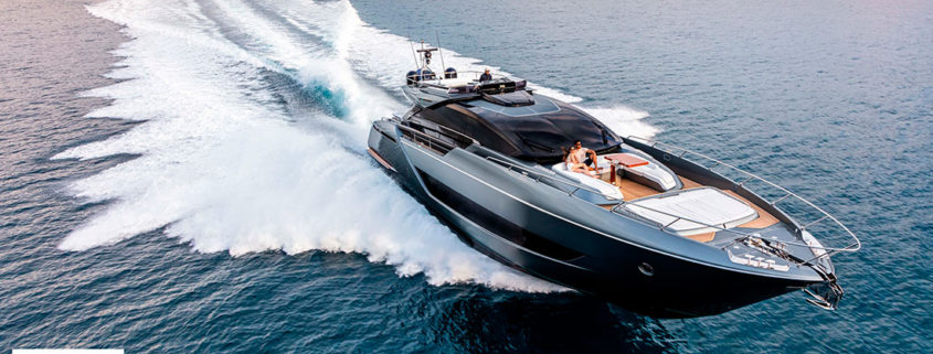 """DOUBLE TRIUMPH FOR FERRETTI GROUP AT THE BOAT INTERNATIONAL DESIGN & INNOVATION AWARDS 2021 Riva 88' Folgore wins in the """"Best New Series"""" category and Pershing 140 Touch Me in """"Best Naval Architecture"""""""