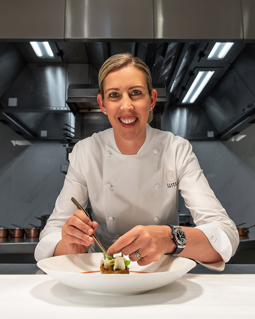 HUBLOT WELCOMES THREE MICHELIN STAR CHEFCLARE SMYTH AS FRIEND OF THE BRAND
