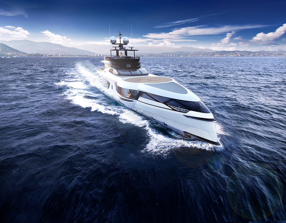 Dynamiq goes behind the scenes of the 50-metre GTT 160's timeless design